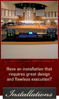 Sound System Installations  |  Woodsy's Music Kent, Ohio