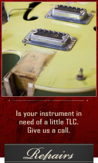 Instrument Electronic Repairs  |  Woodsy's Music Kent, Ohio
